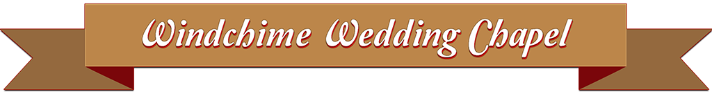 Windchime Wedding Chapel Banner