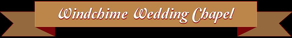 Windchime Wedding Chapel Banner